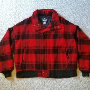 Vintage Woolrich XL Wool Buffalo Plaid Jacket USA